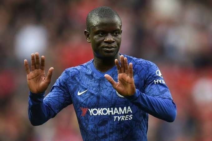 """🎙Thomas Tuchel 🇩🇪: """"I fought many years to have N'Golo Kante 🇫🇷 in my team and now he is here."""" #CHEWOL #CFC"""