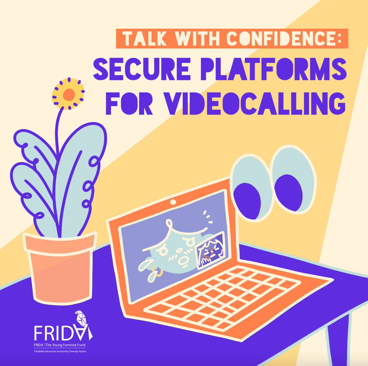 As we continue organize, love a& live online, we are mindful of the ways that online space & safety are in constant flux. Our latest Digital security resource focuses on ways to make video conferencing safer for you & your community. #takebackthetech >>
