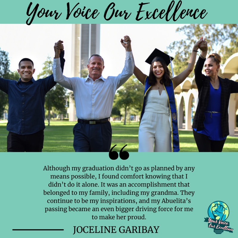 Good Afternoon!!! We all have dreams to work towards! Take a look at Joceline's story for more inspiration.  You can find it by clicking the link below.    #YourVoiceOurExellence #YVOE #latinas #chicanapride #americandream #grit #determination #dreamer