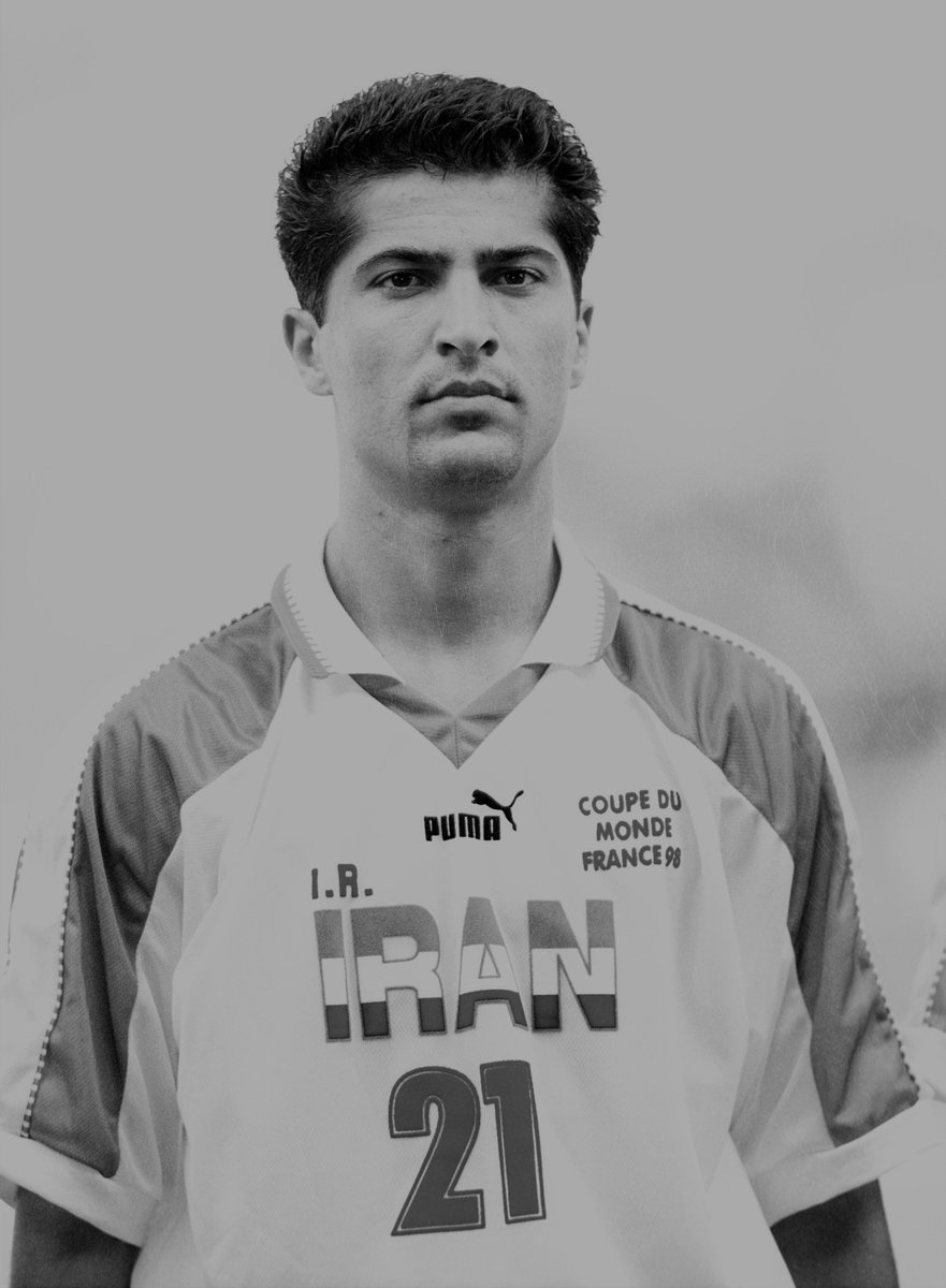 We're heartbroken to hear that Mehrdad Minavand, who helped @TeamMelliIran register their 1st-ever #WorldCup victory – 2-1 against USA in 1998 – has passed away, aged 45. RIP Mehrdad.