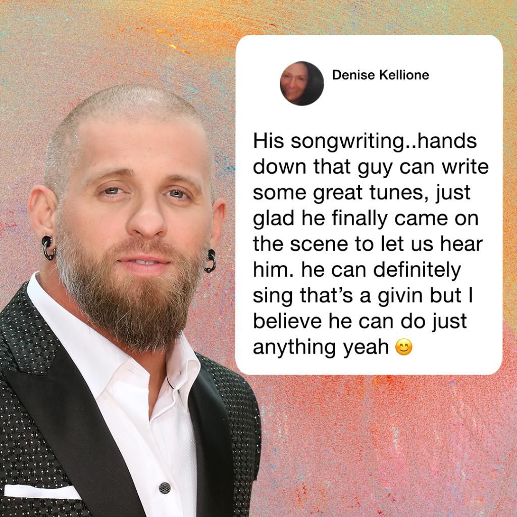 """We asked #bgnation what they love most about @brantleygilbert and boy did they deliver! """"Bottoms Up"""" to this country rebel 👊"""