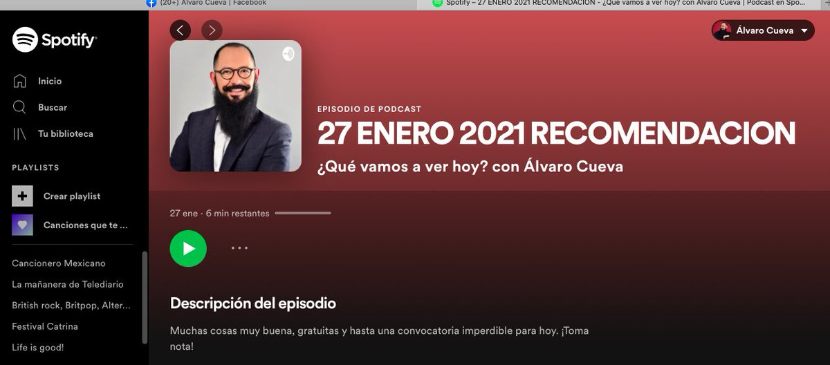 QUÉ VAMOS A VER HOY 27 DE ENERO?  @SPRMexico @DiscoveryLA @NetflixLAT @WarnerChannelLA @PrimeVideoMX #supervivenciaaldesnudo #Riverdale #ElCid #ZonaDeRiesgo #OutsideTheWireNetflix #Netflix #AmazonPrime #Series #Cine