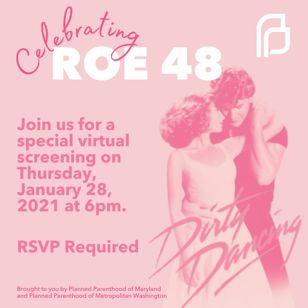 #ROE48 📢 We are thrilled to share that Eleanor Bergstein @BabyJohnny2020, #DirtyDancing writer, will join us on Zoom prior to the screening. This 1987 film started honest dialogue about reproductive rights, class issues & love. Registration closes @ 12am