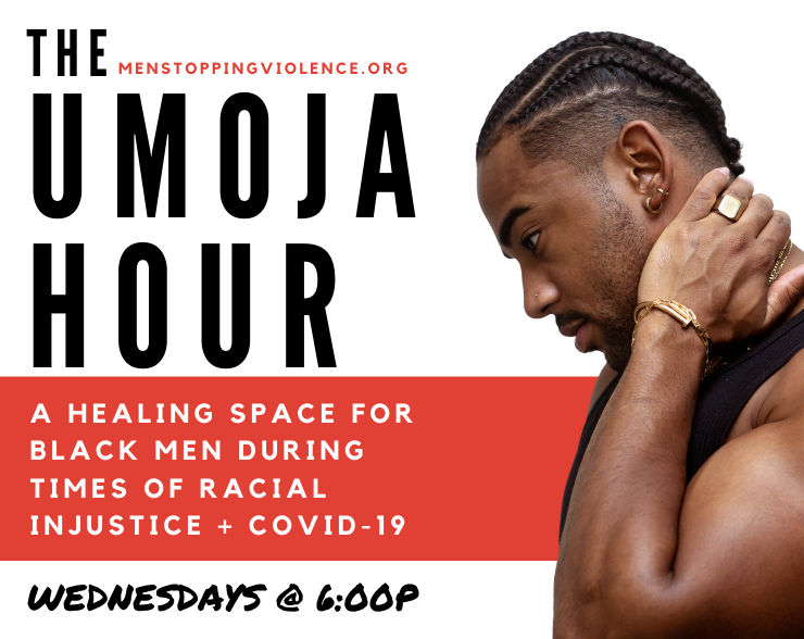 """""""What Are Your Core Values?""""  Knowing & living your values can help you find peace in turbulent & uncertain times.  TODAY AT 6PM! Join us for the UMOJA HOUR as Black men talk about the values that inform their lives. #wellness #wellbeingwednesday  Link at"""