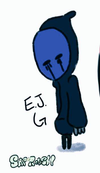 Some EJ doodles to finish the month of January, idfk #creepypasta #eyelessjack #EJ  #doodles