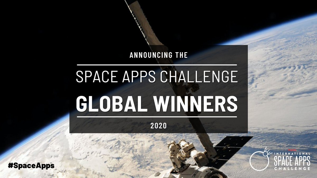 We are excited to announce that the #SpaceApps 2020 Global Winners have been selected!   Check out the winning teams and projects: