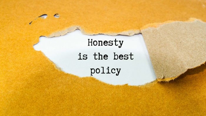 Be #honest in all your actions, we must observe and preserve honesty in our physical/material and #moral #life in an absolute way, not just #financial #honesty  And they who are to their #trusts and their #promises attentive Quran: 70:32