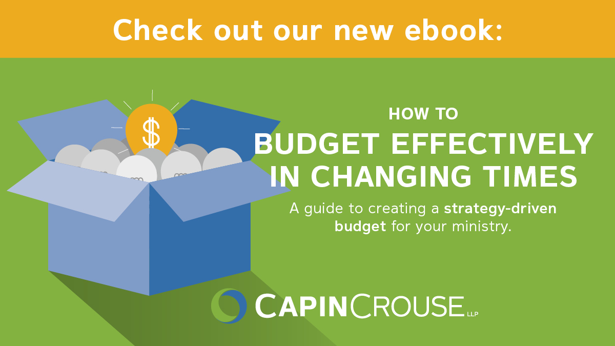 "Our ""How to Budget Effectively in Changing Times"" e-book provides a guide to creating a strategy-based budget for your ministry. Download your free copy:     #churches #ministries #nonprofits #budgeting #BudgetEffectively #ebook"