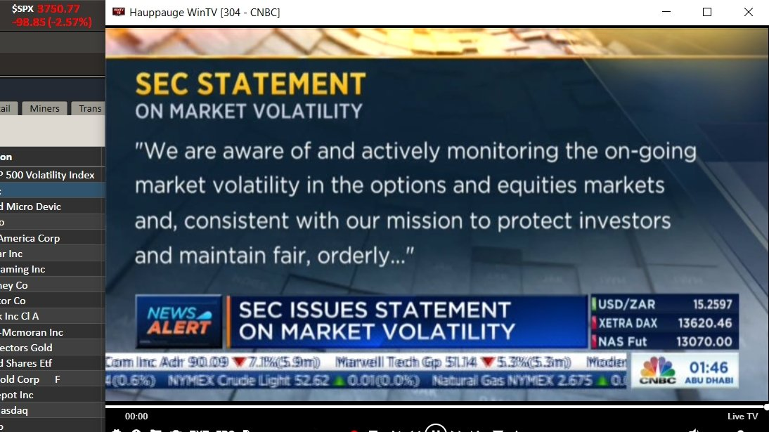 SEC statement on market volatility /1 #wallstreetbets #stockmarket #gamestop $GME $AMC