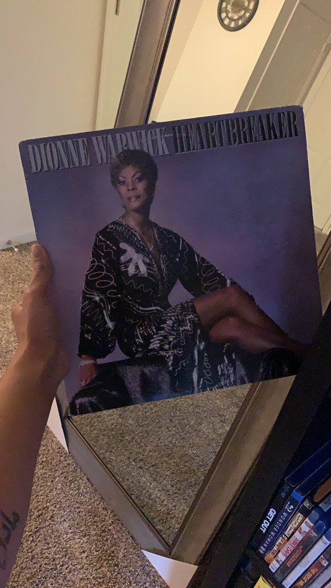 My growing vinyl collection makes me happy #dionnewarwick