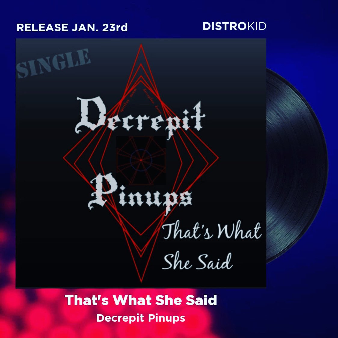 """Our single """"That's What She Said"""" is live. We'd love to hear what you think! Find it on #spotify #deezer #applemusic and more #rockguitar #rock #rockmusic #rockband #metal #metalhead #spotify #guitar #guitarist #newsong #newsingle #newsinglealert #newmusic #newmusicalert"""
