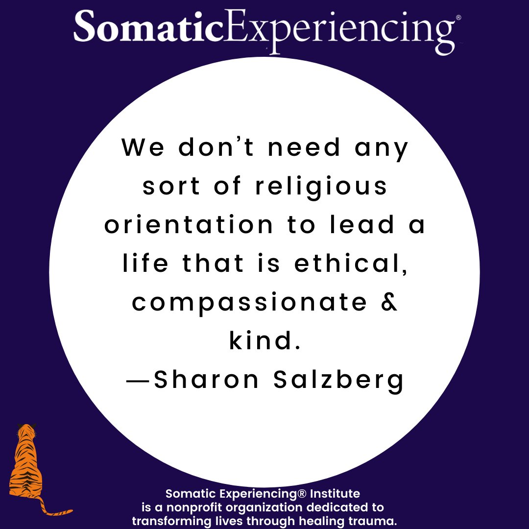 #somaticexperiencing #ptsd #somatic #somatichealing #therapy #mentalhealthawareness #mentalhealth #healing #inclusion #diversity #equity #trauma #love #training #SEtraumaInstitute #selfcare #mindfulness #psychology #mentalhealthprofessional #health #kindness #community