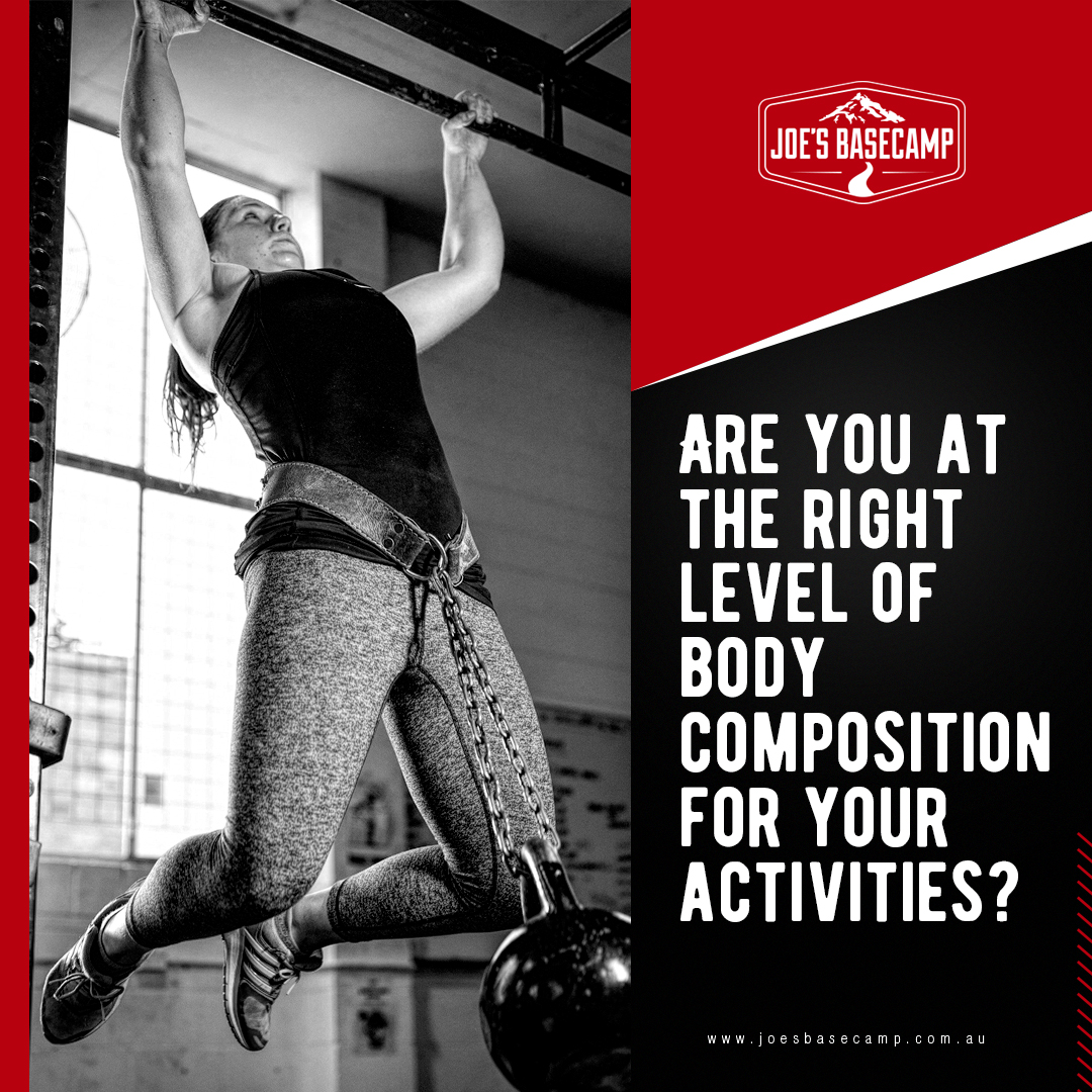 Are you at the right level of body composition for your activities?  #goals #adventure #fitness #mindset #challenge #gym