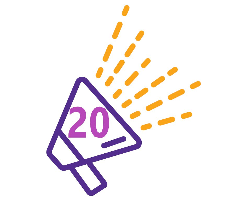 Exciting news! 2021 marks our 20th anniversary, supporting children & families across Cornwall. Keep checking in to hear about our fundraising campaign...coming soon! #kindness
