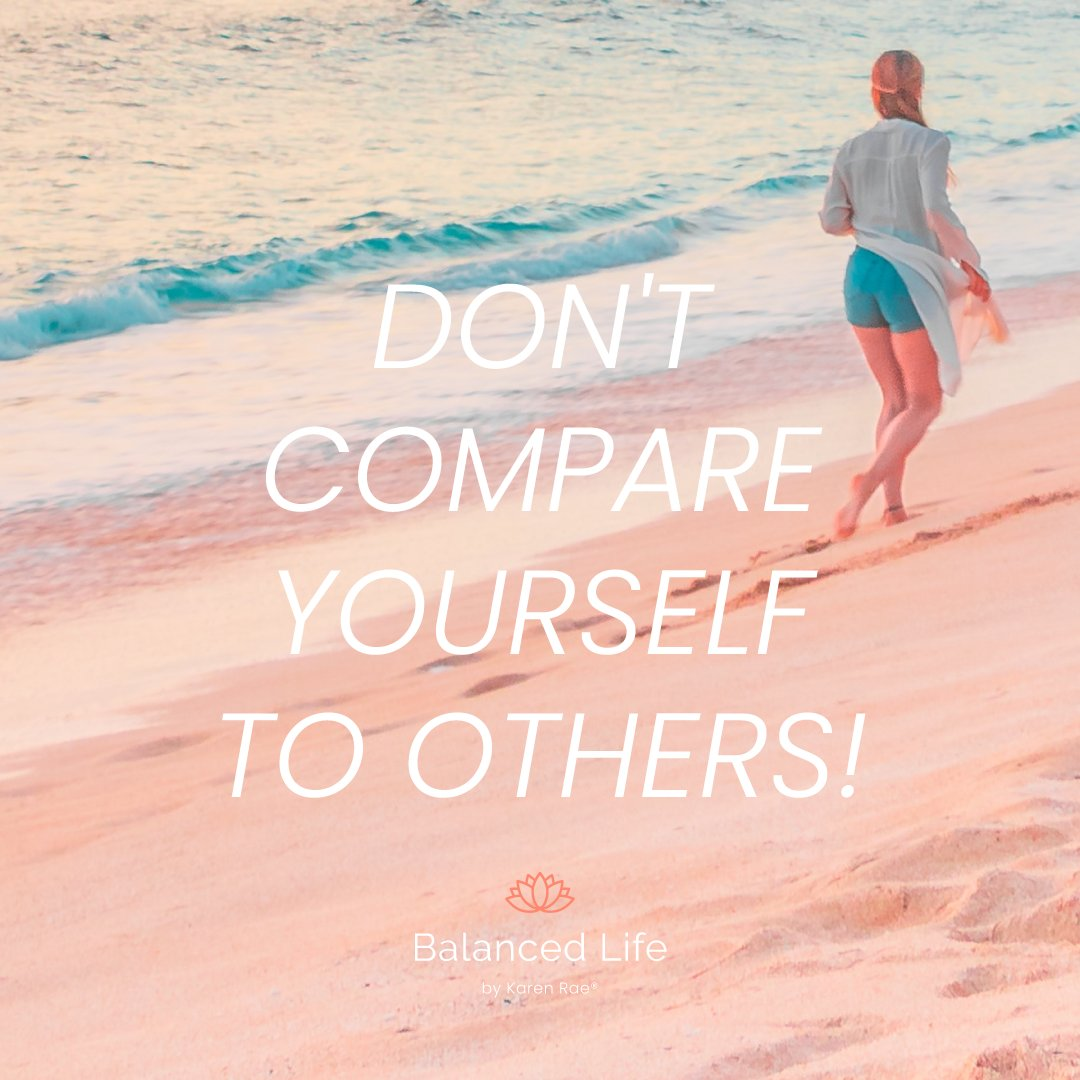 Don't compare yourself to others! Learning to set boundaries in your own life can help.  Always do your personal best within the boundaries that you have set for yourself! . . . #Hello2021 #WellnessWednesday #boundaries #doyou #balancedlife #balancedlifekr #faith #family