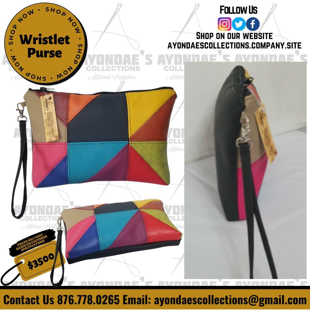 ...and another one  The Mutli-Color Wristlet strikes again Get yours on our website via the link in bio  #purses #handbags #bags #fashion #purse #accessories #shopping #clutchbag #style #handmade #clutch  #purselover #pursesforsale #bag #handbag #shop #clutches