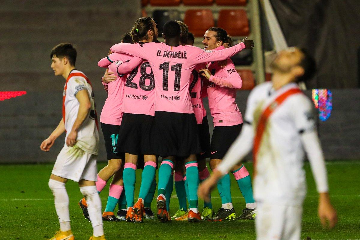 💪🟦🟥 We're through to the Copa del Rey quarterfinals!