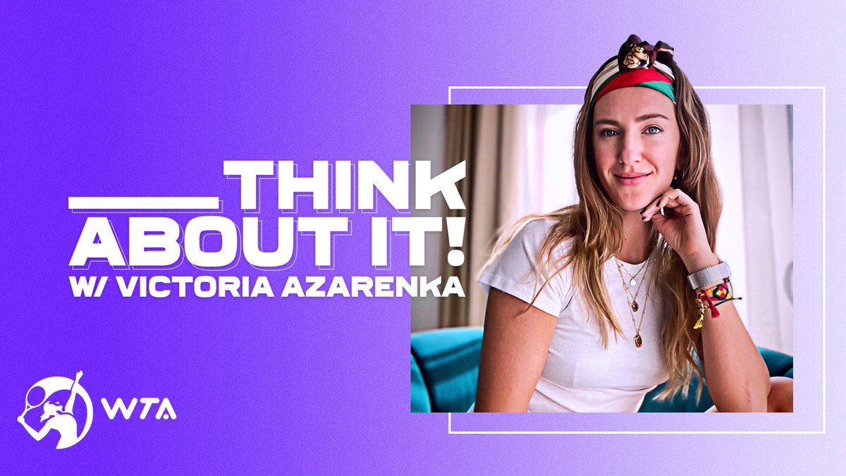 The day has finally arrived!! 🤩 Click on the link to catch all the episodes of, Think About It! Additionally, they will be available on your favorite podcast channels and don't forget to catch them weekly on Tennis Channel! @TennisChannel @WTA youtube.com/channel/UCT8TH…