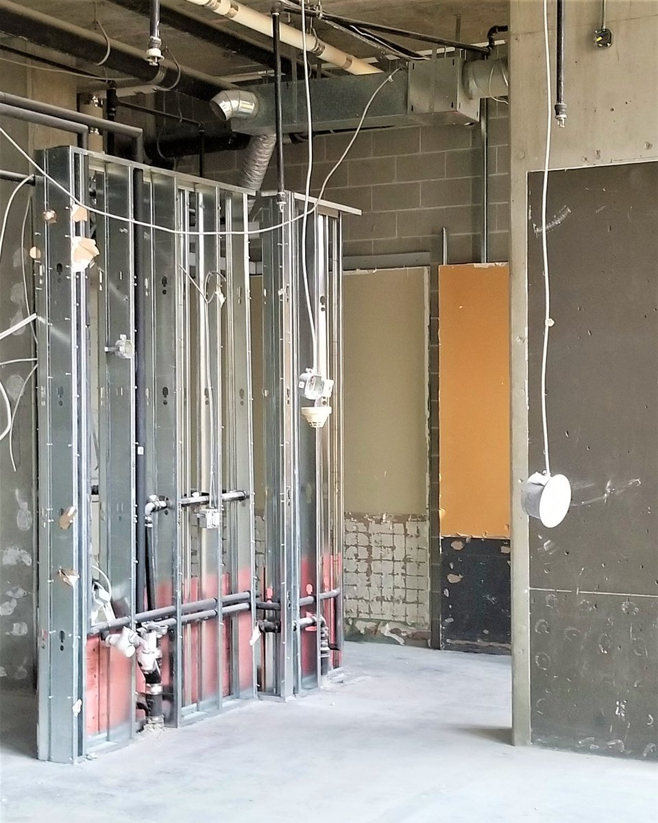 Stripped... . . . #renovation #commericalrenovation #commericalconstruction #restaurant #restaurantdesign #tenantimprovement #demo #demolition #steel #steelstud #downtown #yaletown #vancouver #TPI_IPRy #tyrrellprojectsinc