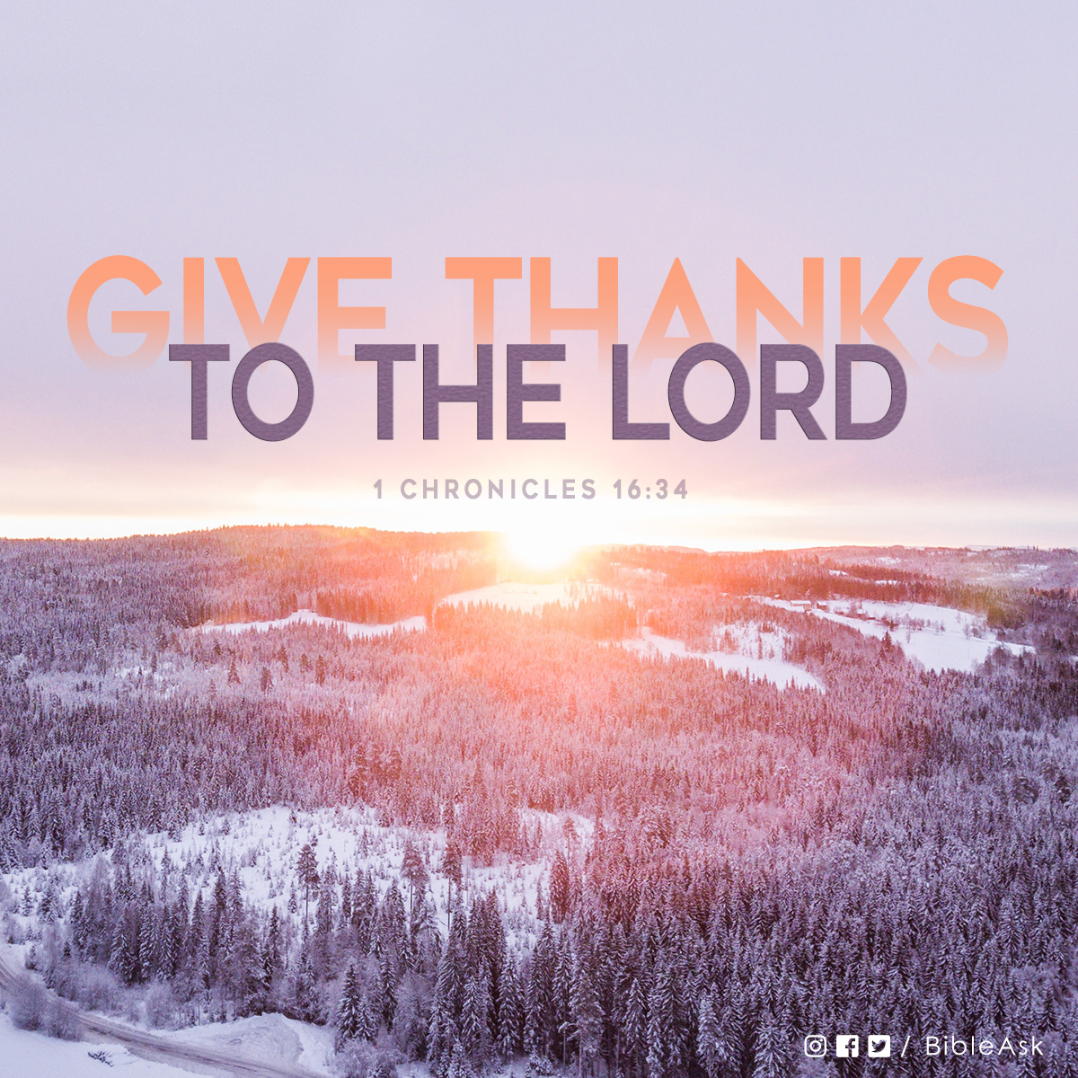 Today, let us remember to 'Give thanks to the LORD, for He is good.' #verseoftheday⠀⠀ .⠀⠀ .⠀⠀ .⠀⠀ .⠀⠀ #dailybibleverse #bible #verse #biblequote #bible #Godisgood #givethanks #blessed #faith #faithquotes #dailyinspiration #scripturequotes #goodmorning #votd #bibleask