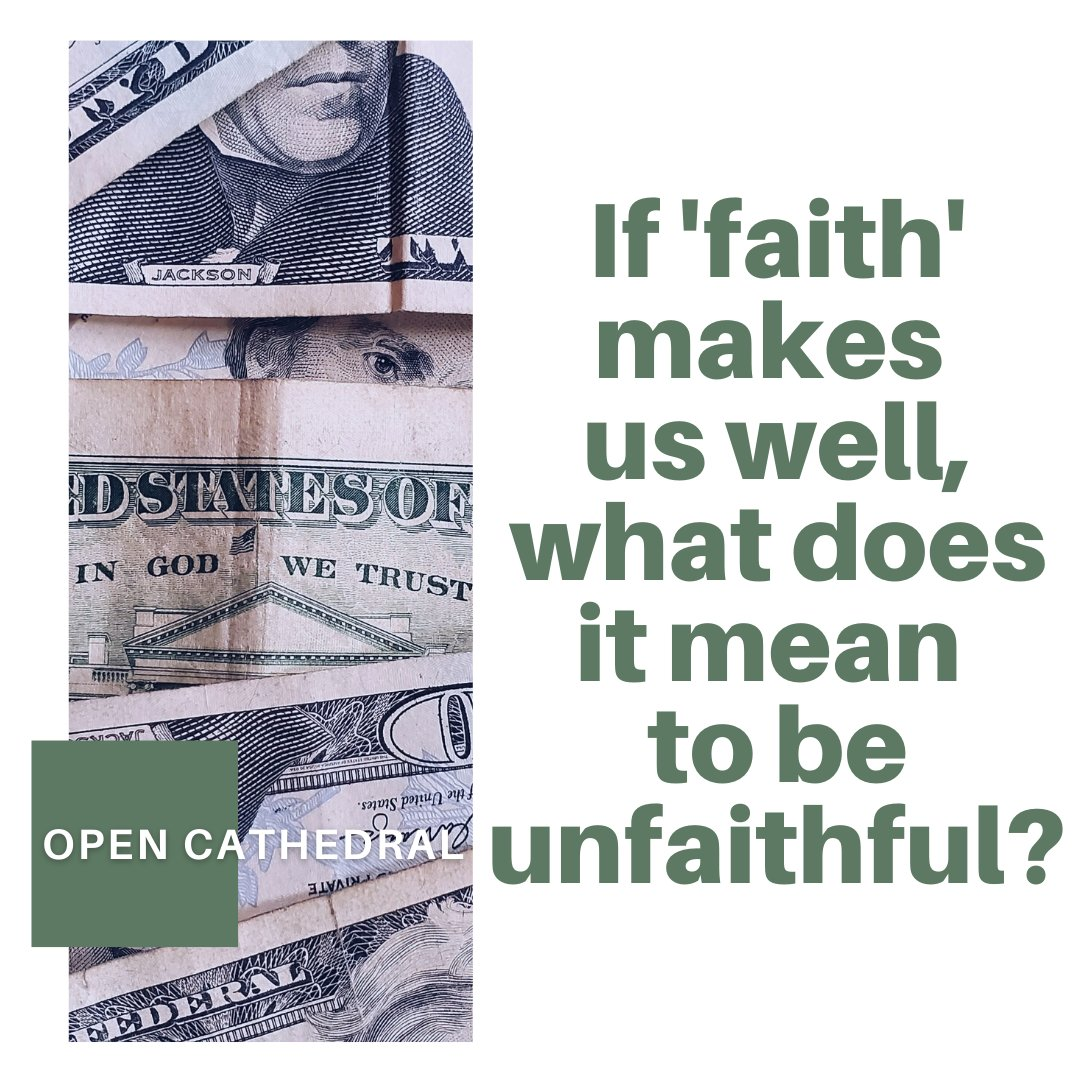 Plenty of people with no faith are well. So what good is faith? Join us for an honest conversation.  #opencathedral #progressivechristianity #momlife #kids #gay #lgbt #faith #church #leander #cedarpark  #roundrock #unitedchurchofchrist