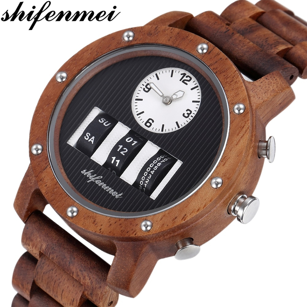 #accessories #jewelry #luxurywatches Shifenmei Watch Mens Roller Digital Dial Watch Top Luxury Brand