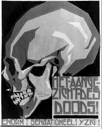 Poster, 1920 #mcescher #expressionism