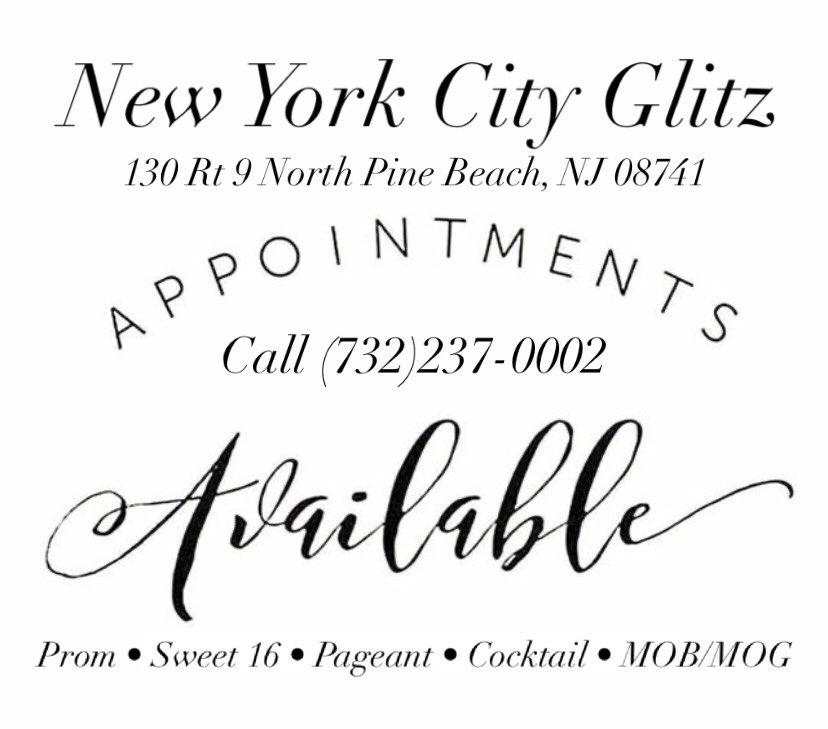 #nycglitz #njboutique #nj #boutique #redcarpet #prom #prom2021 #prom2k21 #weddings #bridal #bridesmaids #motherof #MOB #MOG #sweet16 #sweetsixteen #batmitzvah #quinceañera #quince #homecoming #jerseyshore #plussize #formalwear #fashion #shopsmall #shoplocal #tomsriverlocal
