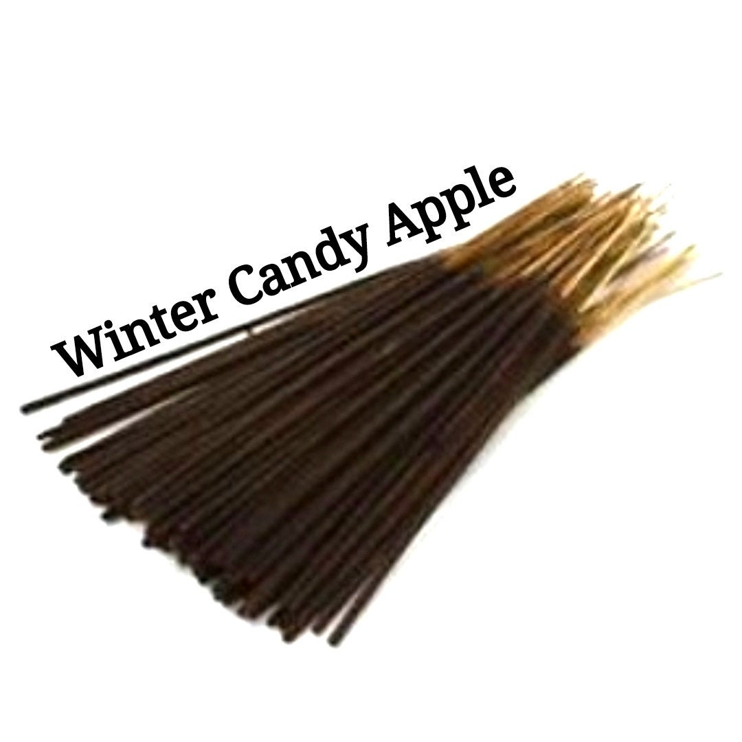 Incense Sticks | Winter Candy Apple (Type) | 30 Incense Sticks | Incense Bundle  #Incense #HerbalRemedies #CyberMonday #PerfumeBodyOils #Etsy #GiftShopSale #AromatherapyOil #HomeFragranceOil #Wedding #BlackFriday #IncenseBundles