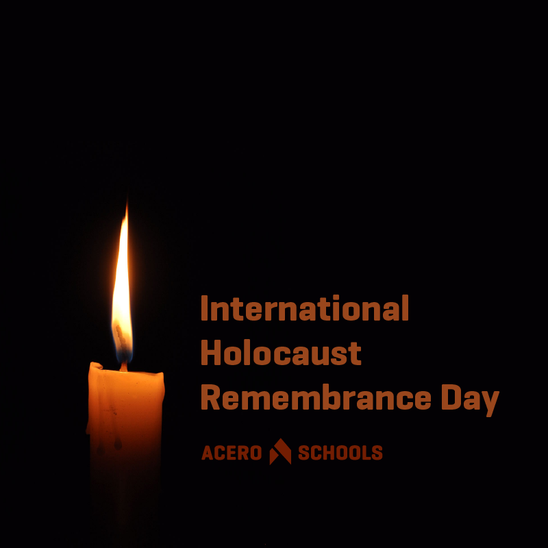 Wednesday, January 27, is International Holocaust Remembrance Day. Today and everyday we remember those who we lost and those who survived. #HolocaustRemembranceDay
