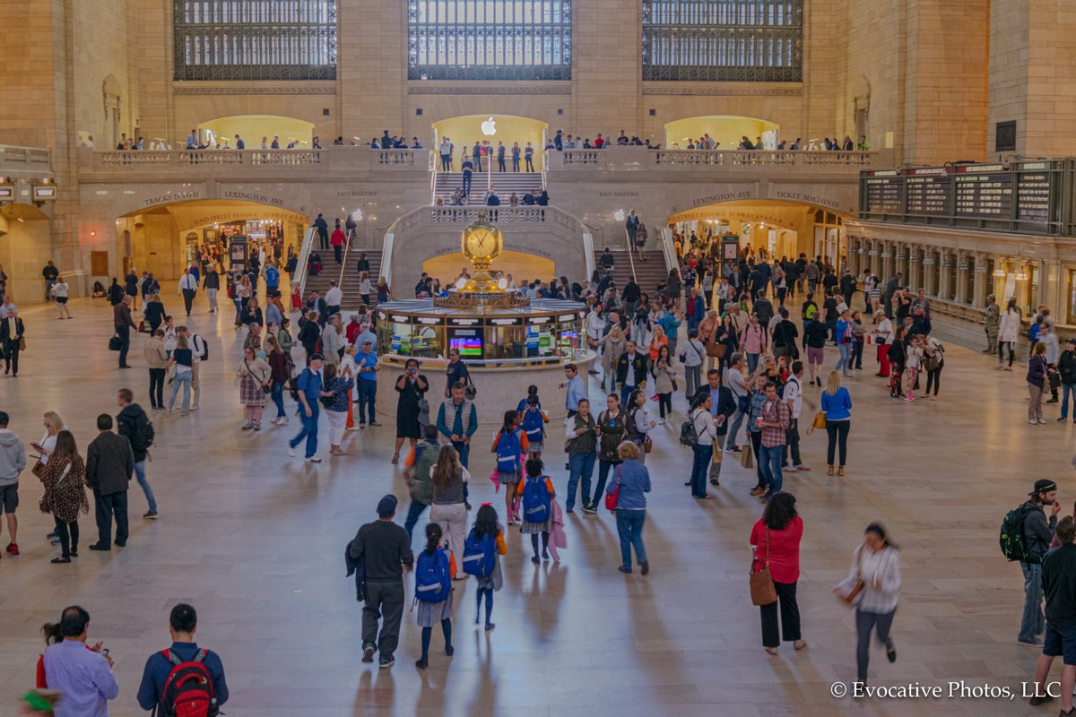 Grand Central Station -- Pre Covid #NYC #NewYork #Manhattan #trains #Station #architecture #Travel #transport #busy #people