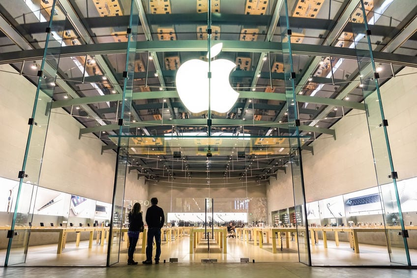 Apple's revenue jumps to a record £81 billion in the first quarter.  #Apple #TechGiant #Earnings #FirstQuarter #StockMarketNews #USA #Nasdaq #iPhone #TimCook