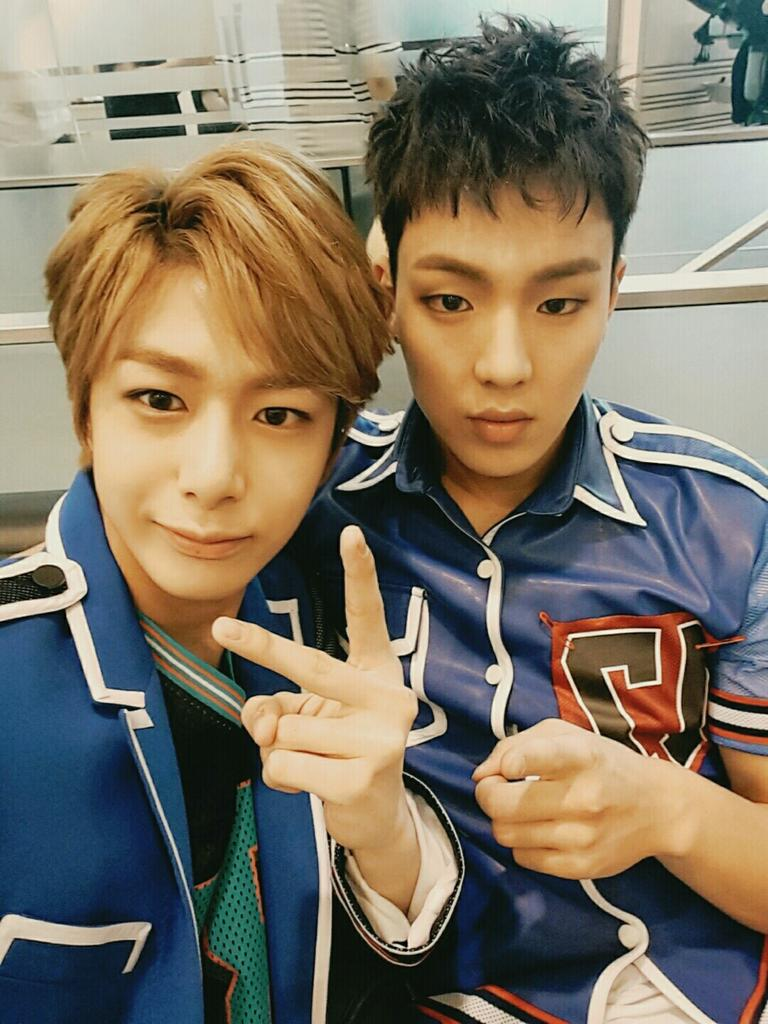 Shownu and Hyungwon 🐻🐢  Because I said so. ❤️  Please love them. Our boys deserve the best. If you disagree, there is the front door. 👋  #HYUNGWON #SHOWNU #셔누 #형원  #MONSTAX  @OfficialMonstaX