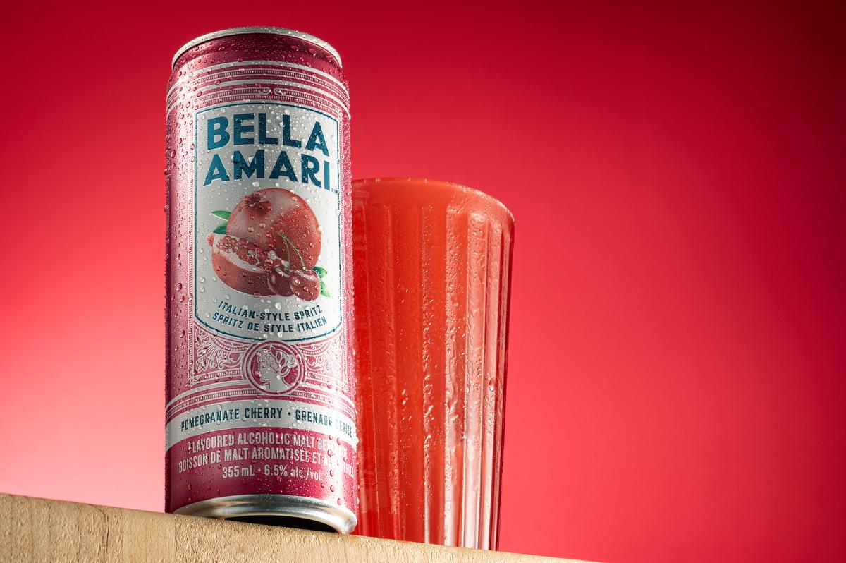 Melvyn Kouri Product Photographer #Montreal #foodphotography #food #Food #Foodie #photographer #advertise , Bella Amari Pomegranate and Cherry Drink #art #drink #beverage #sweet #alcoholic
