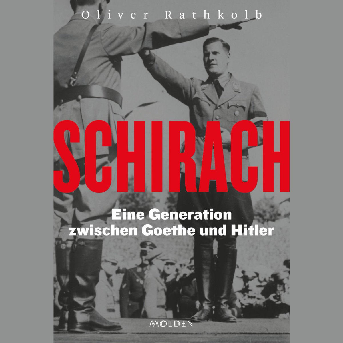 """""""Those who do not #learnhistory are doomed to repeat it.""""  This #HolocaustRemembranceDay,  @martinoweiss invited J. Matthäus @HolocaustMuseum & historian Oliver Rathkolb @univienna to present his new book about Hitler Youth leader Baldur von Schirach. 📺🔜"""