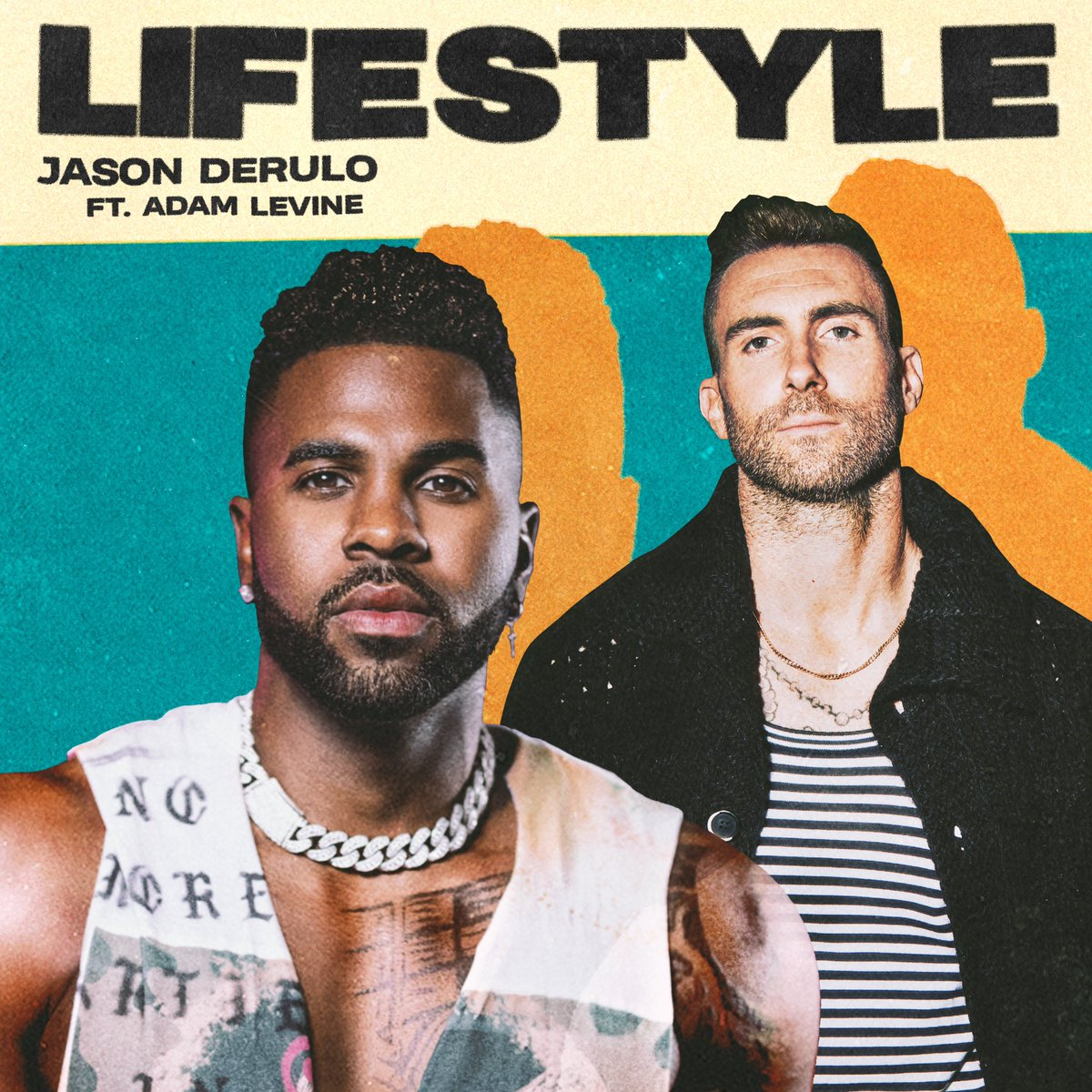 """A bop. @jasonderulo links with @adamlevine for the instantly catchy """"Lifestyle"""":"""