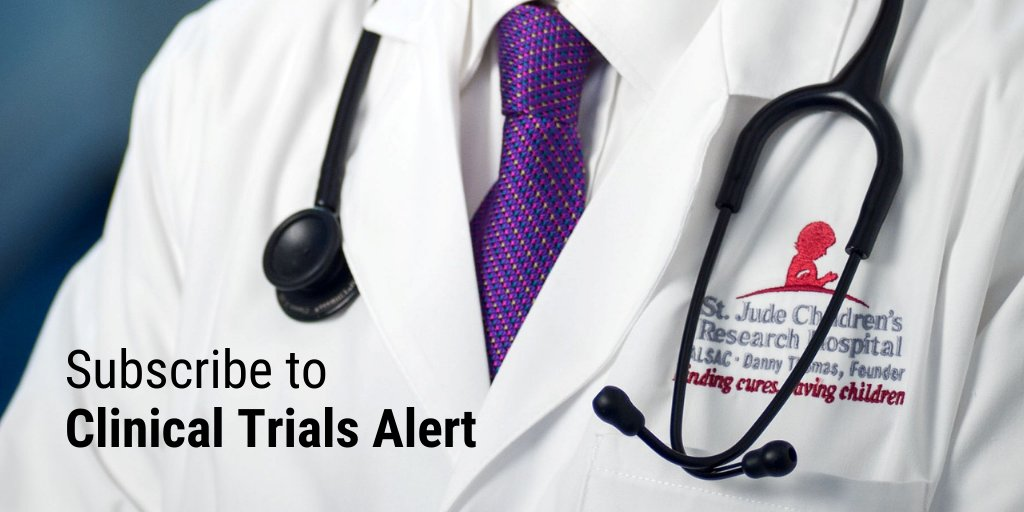 Physicians and health care providers: Subscribe to our monthly Clinical Trials Alert email about research protocols, new initiatives and scientific findings. https://t.co/HmSwTSedIZ #TranslationalResearch #MedTwitter https://t.co/ZphzN3Hmxq