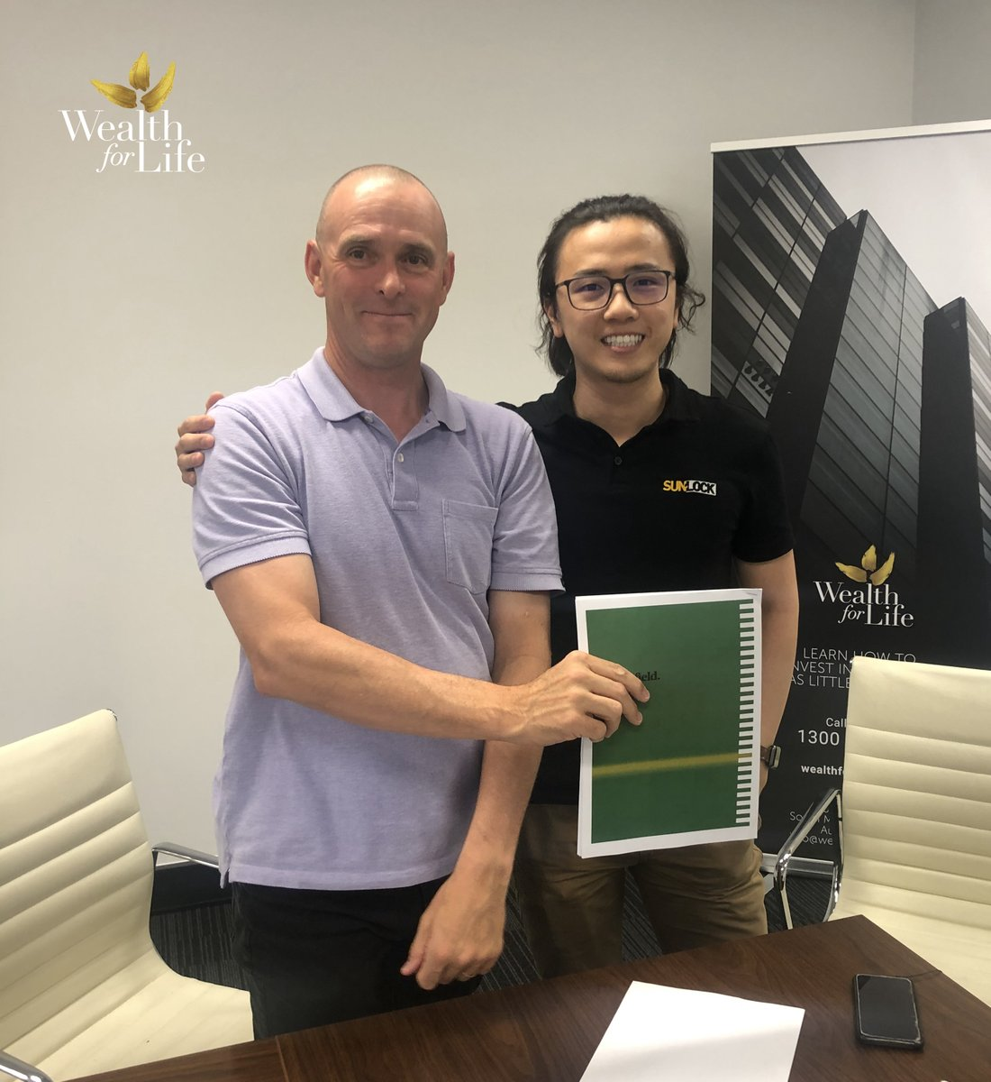 Congratulations Samson on picking up a spectacular opportunity and joining the wealth for life team.   To find out more head over to our website    #2021goals #wealthforlife #property #propertyinvestment #financialfreedom #finance #2021herewecome