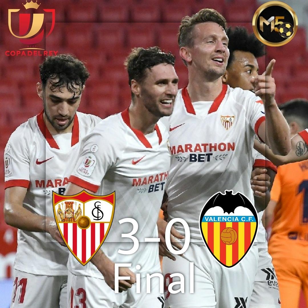 ¡EL SEVILLA GANA!🔥⚽️🇪🇸 El seviila goleo al valencia fue un gran partido de futbol pasan a la siguente ronda de la copa del rey, con goles de #rakitic y doble de #dejong  #LaLigaSantander #LaLiga #CopaDelRey