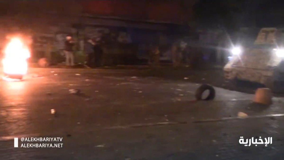 فيديو   45 جريحاً حصيلة المواجهات بين محتجين وقوات الأمن في شمال #لبنان  #الإخبارية