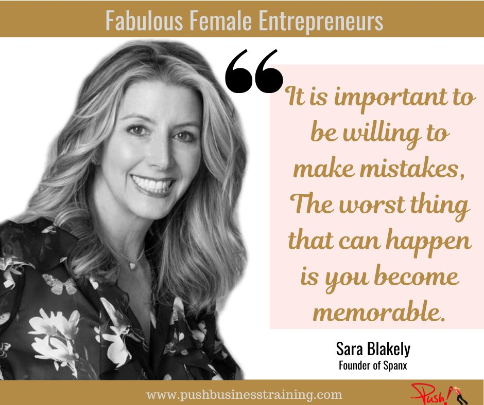 Are you willing to make mistakes?  #SmallBusiness #Womeninbusiness #Entrepreneurs