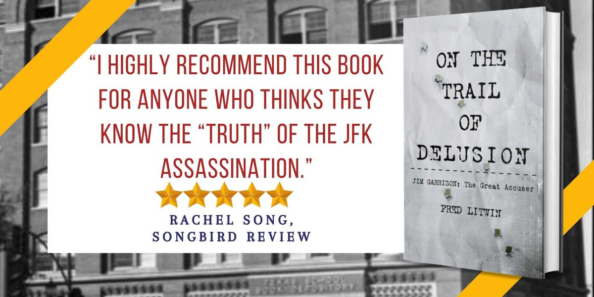 """""""The definitive guide to the truth behind the conspiracy theories concerning the assassination of President John F. Kennedy."""" Susan Keefe, Midwest Book Review, 5- Stars @TheOliverStone @FreedomofPress #jfkassassination #jfk #johnfkennedy #presidentkennedy https://t.co/r8YRVMqbD6 https://t.co/7tAOWYwIjH"""