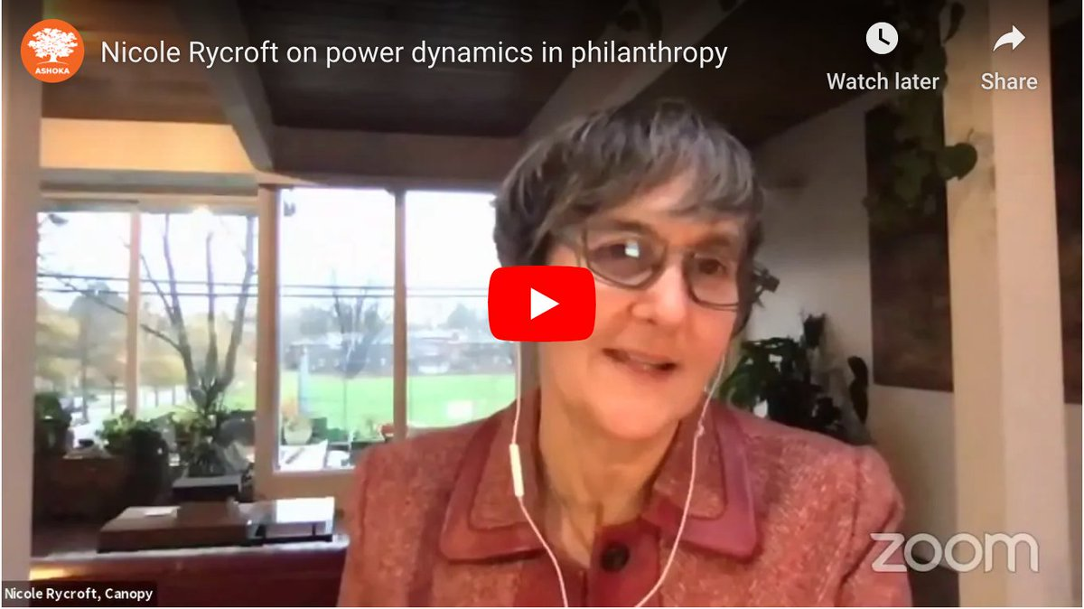 For over twenty years, @nicolerycroft1has been addressing planet & #climate issues through finding unlikely allies:   Check out this interview with Canopy's Executive Director from the wonderful folks @Ashoka.  #ActOnClimate