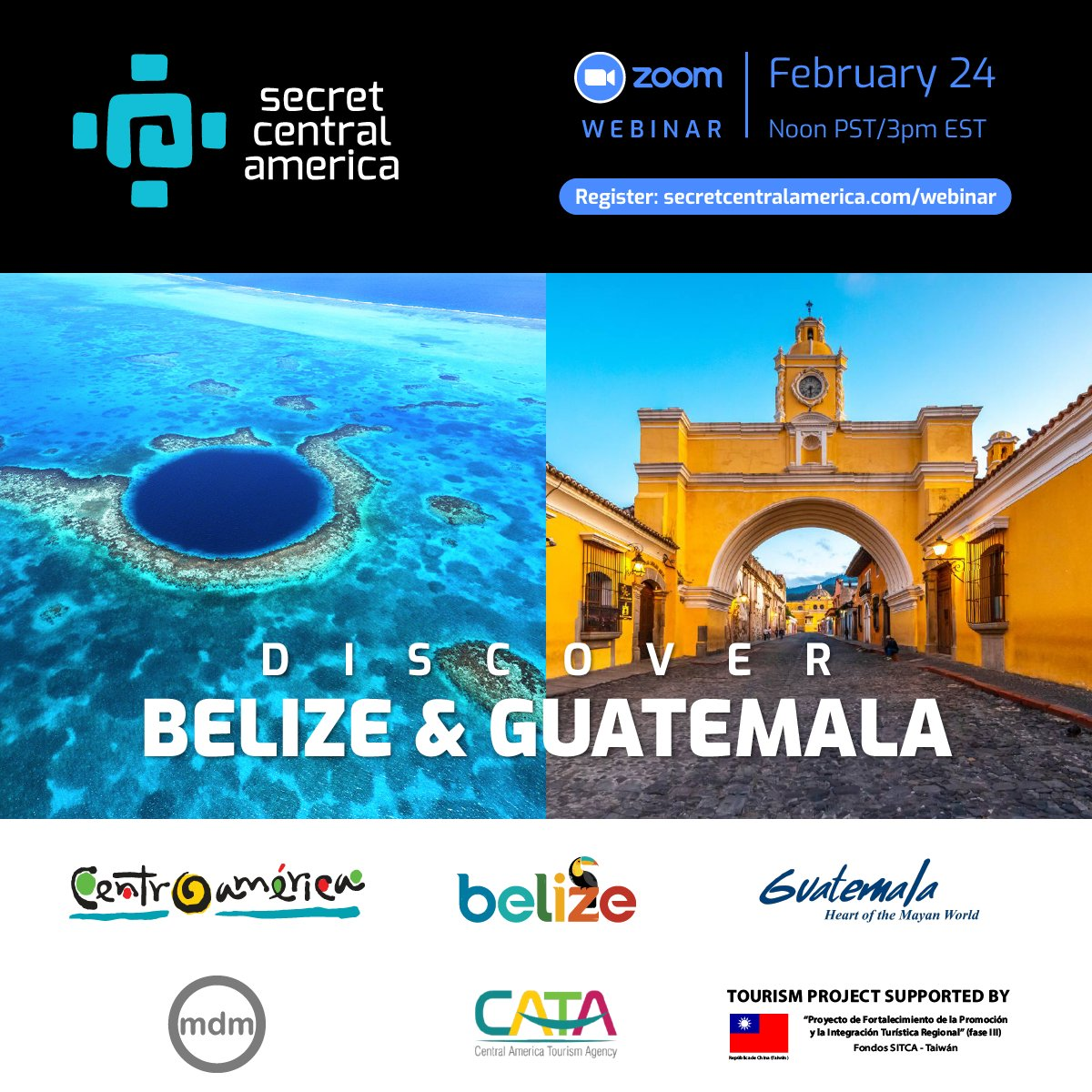 test Twitter Media - Join us to explore the magic of Guatemala & Belize in a 1-hour webinar that will inspire your post pandemic travel! Webinar is Feb. 24, 2021 at Noon PST/3pm EST, click the link to register! @natgeoadventure @NatGeoTravel @Travelzoo @TravelBestBets  https://t.co/nDCjzqViaK https://t.co/26FWVoKfzW
