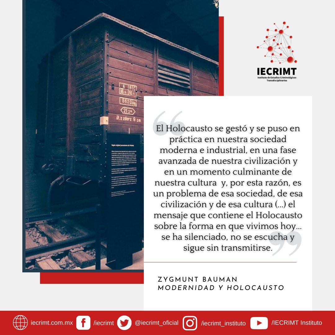 """La resolución 60/7 no solo establece el #27Enero como el """"Día internacional de conmemoración en memoria de las víctimas del #Holocausto"""", sino que también rechaza cualquier manera de negar su existencia.  - #IECRIMT #WeRemember #HolocaustRemembranceDay #HolocaustMemorialDay"""