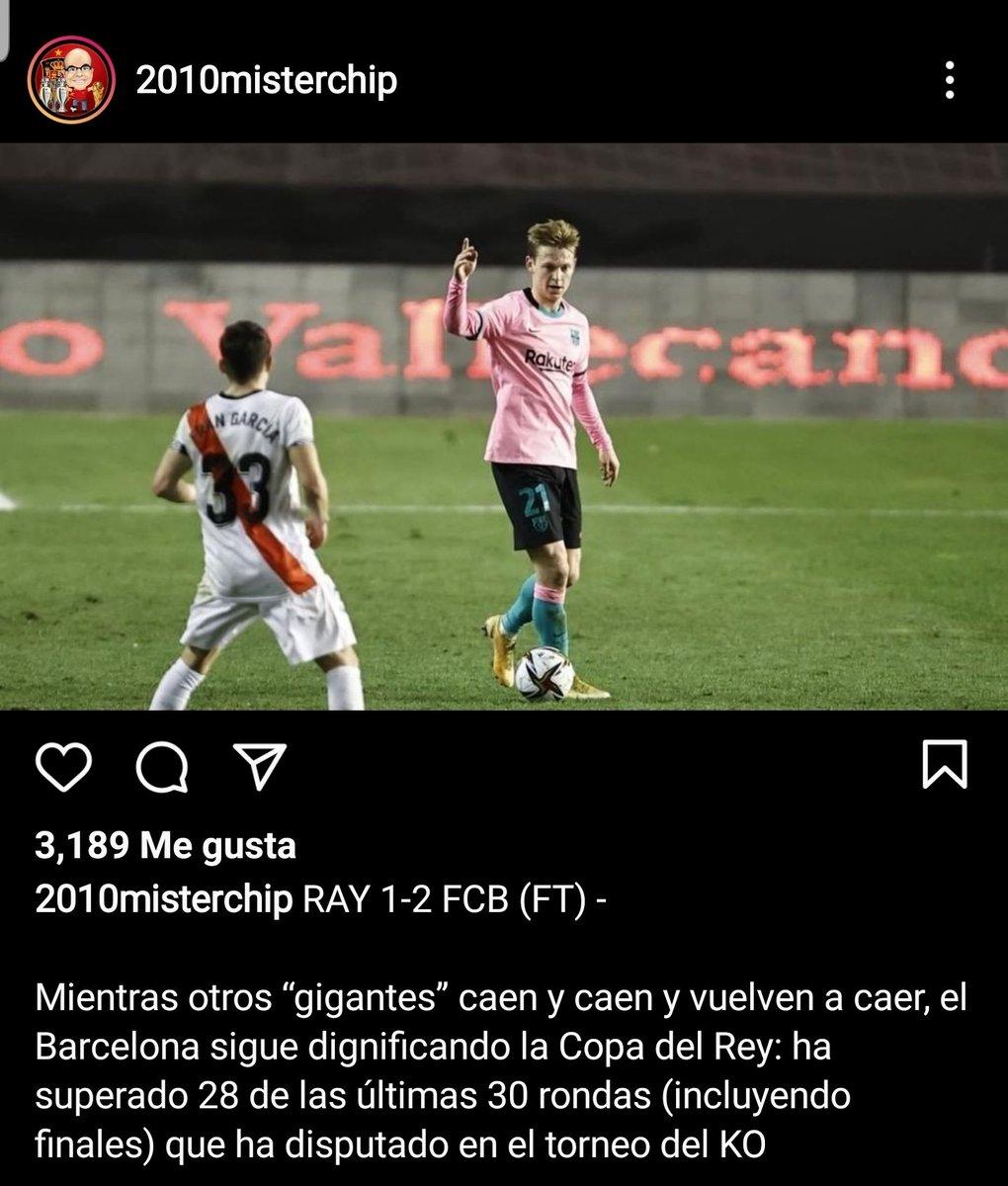 ¿Dignificando? 🤣🤣🤣 Por favor, el #Barcelona está hecho solo para ese torneo!   Le gano al Rayo, no pues que nivel y a la hora buena pierden!🤣🤣  🆚️ #Liverpool  🆚️ #Roma 🆚️ #Juventus 🆚️ #AthleticClub   #HalaMadrid