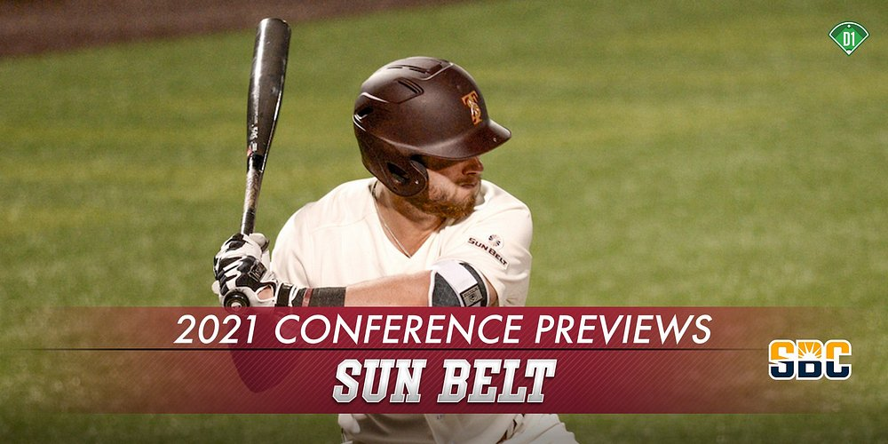 CONFERENCE PREVIEW: @SunBelt My in-depth #SunBelt preview is out w/ more than 5K words on @TxStateBaseball @CoastalBaseball @WeAreSouth_BSB, @RaginCajunsBSB etc. * Team Reports * Top 25 Prospects (21 #MLBDraft) * Top 10 Prospects (22) * Top Freshmen d1baseball.com/season-preview…
