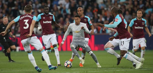📰🗣 West Ham United may end their search for a new striker if they can secure Jesse Lingard, 28, from Manchester United on loan  #COYI #MUFC
