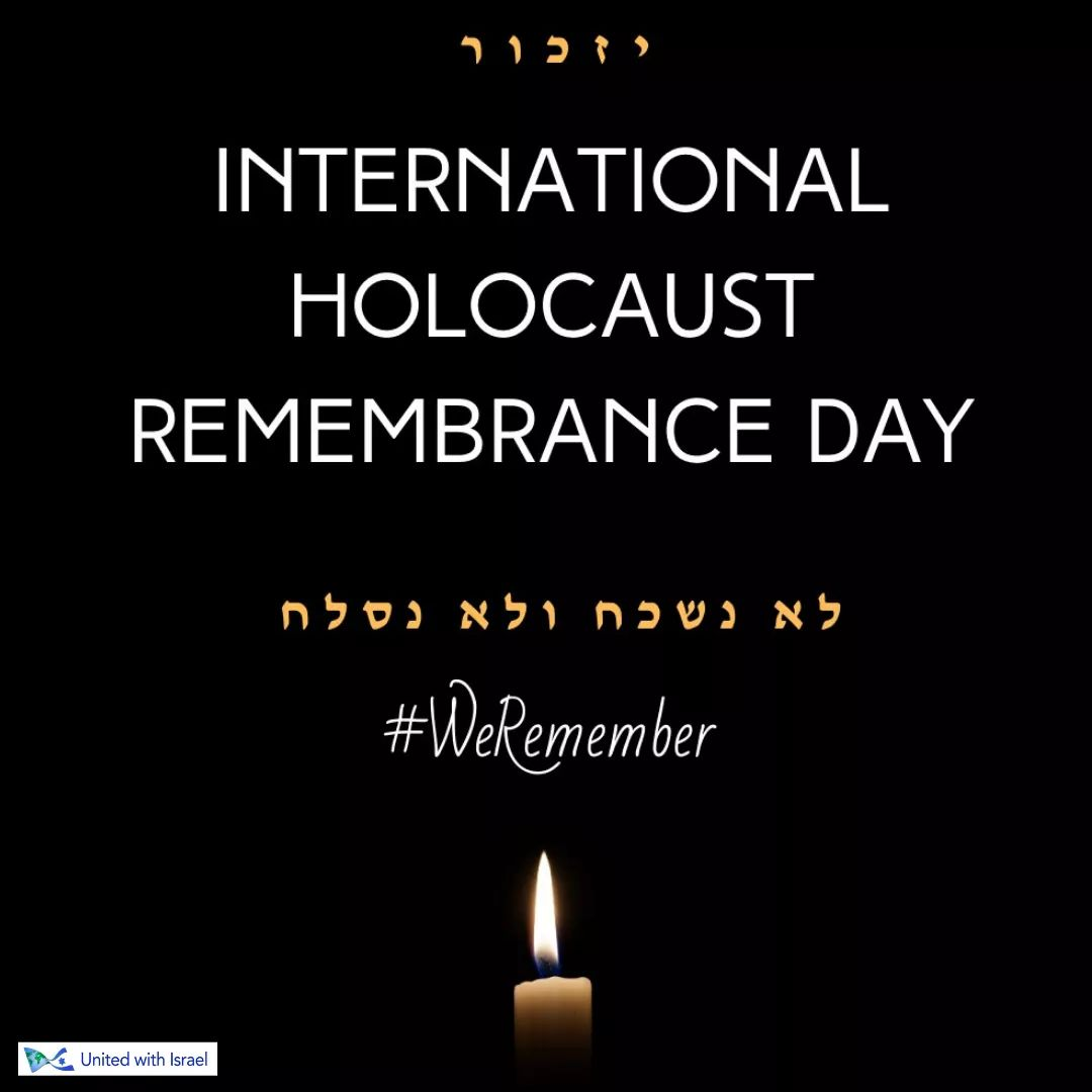 Remembering the tragic events of the #Holocaust . Praying for the survivors and Jewish people across the world. 🙏 #HolocaustRemembranceDay