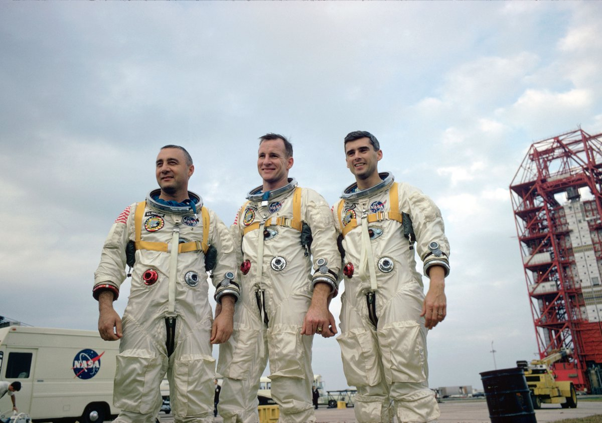 On this day in 1967, we lost the 3 crew members of Apollo 1 when a fire broke out in the command module during a launch rehearsal. They were pioneers in the truest sense of the word, and they'll always be remembered for their contributions to our space program.